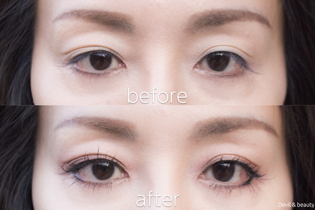 before-after-etvos-mineral-eyecolor-palette-cassis-brown1 - image