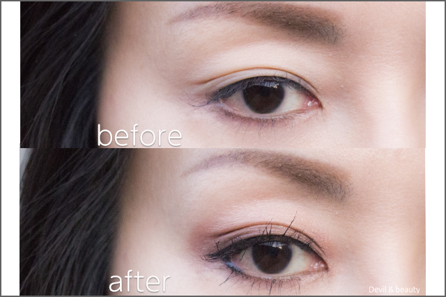 before-after-etvos-mineral-eyecolor-palette-cassis-brown2 - image