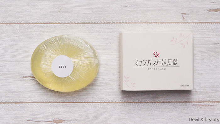 sante-labo-alum-persimmon-juice-soap4 - image