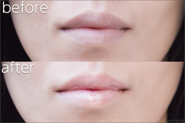 before-after-etvos-gloss-pink-opal - image
