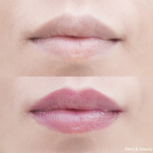 before-after-yslbeauty-lipsticks-volupte-tint-in-balm - image