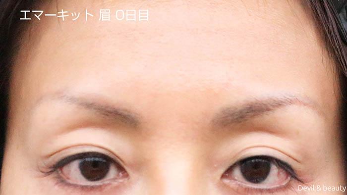 emaked-eyeblow-day0-1 - image