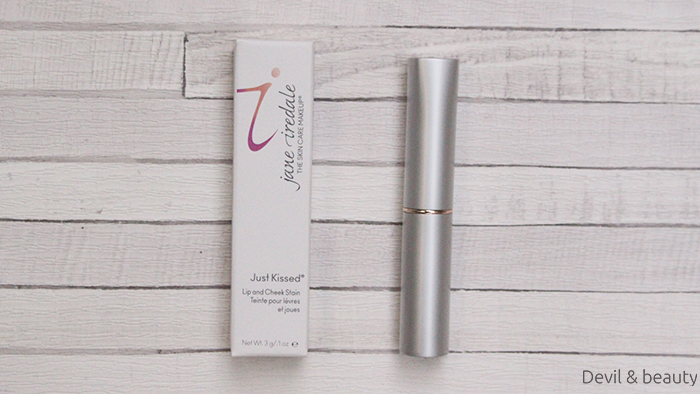 jane-iredale-just-kissed-lip-and-cheek-stain-forever-pink4 - image